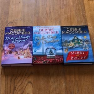 3 Debbie Macomber hardcover books